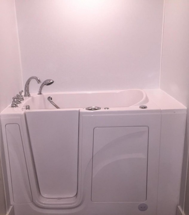 After Walk in Tub Installed in Dallas, TX